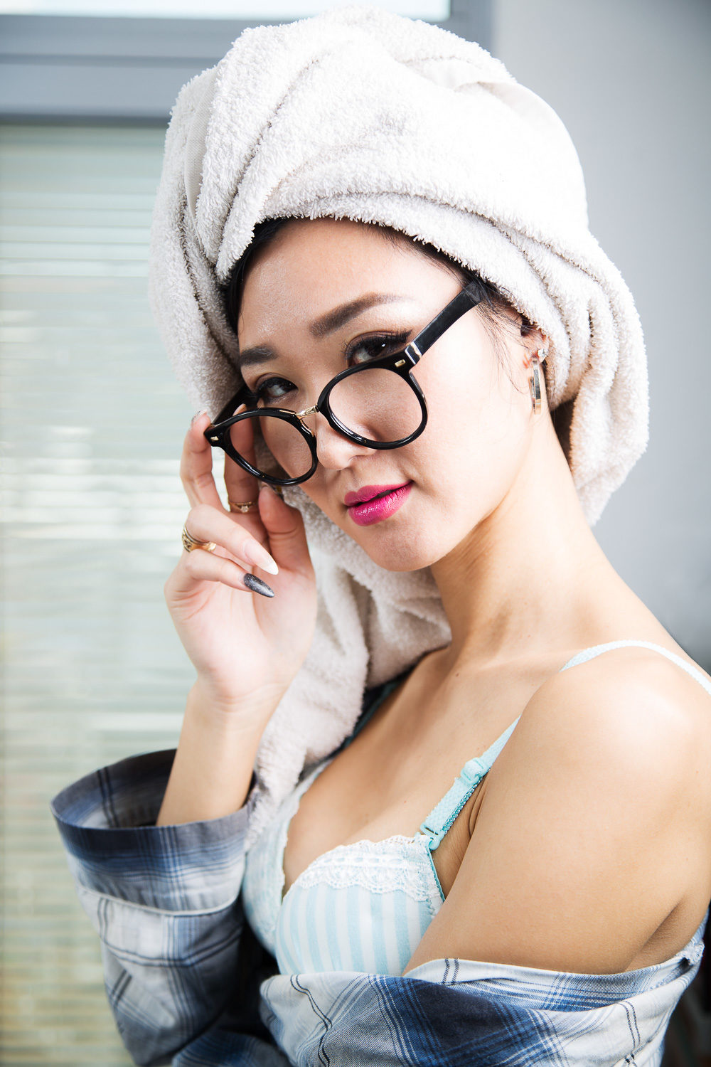 Boudoir - Yuri with hair towel